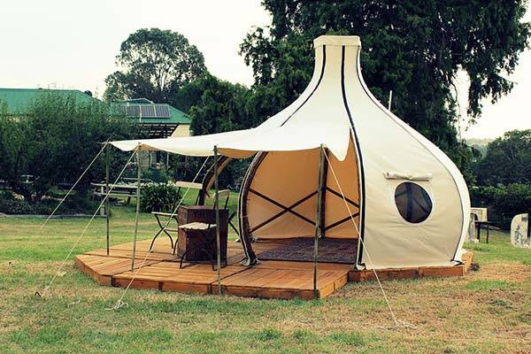 Froute Pod an OnionLike Tent Brings You Comfortable Camping Experience  Gadgetsin