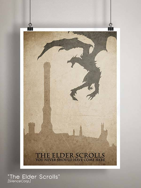 Gaming Room Poster Series Covering Those Popular Video