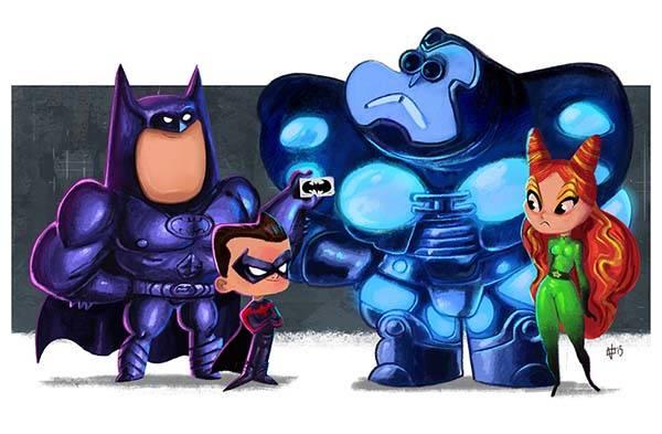 chair images hd best computer for gaming the evolution of batman art prints | gadgetsin