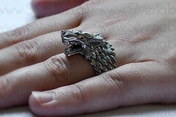 The Handcrafted Sterling Silver Ring Inspired by House of