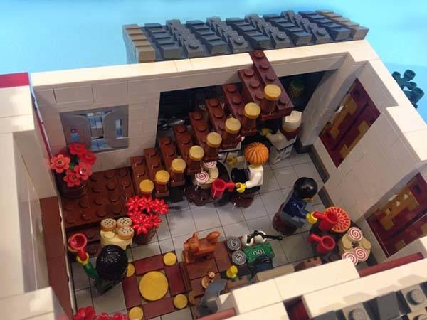 The Chinese Dim Sun Restaurant Lego Set Gadgetsin