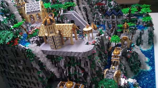 Golden Girls Wallpaper The Hobbit Rivendell Lego Set Gadgetsin