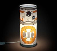 The Star Wars Desktop Accent Lamps Inspired by R2-D2, C ...