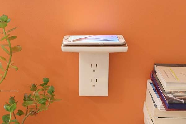 The Wireless Charger Can be Mounted on the Wall  Gadgetsin