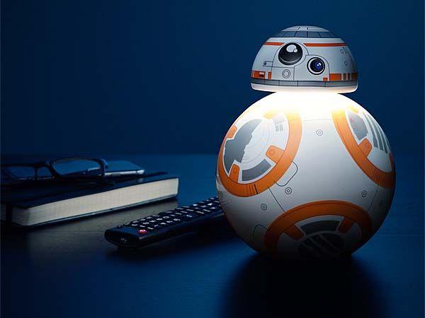 Star Wars BB8 LED Desk Lamp  Gadgetsin