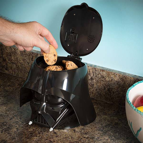 Star Wars Darth Vader Cookie Jar with the Sound of His Breathing  Gadgetsin
