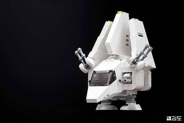 Cool Knife Block The Chibi Lego Star Wars Starfighters Boast Fine Details