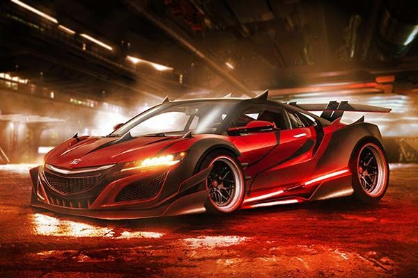 These Concept Sports Cars Inspired by Star Wars Characters  Gadgetsin