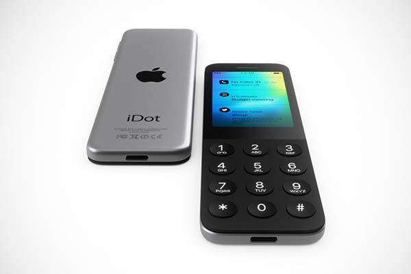 iDot Shows What It Would Look Like If Apple Made Dumbphone  Gadgetsin