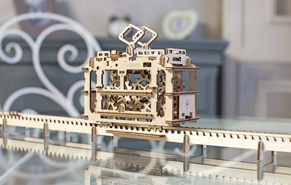 UGEARS Mechanical Model Kits Boast Charming Mechanisms and Rich Detailing  Gadgetsin