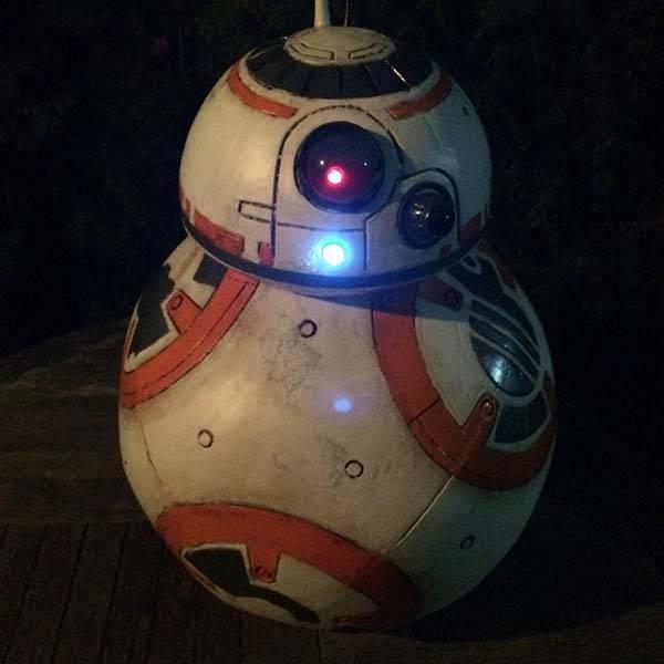 Make Your Own 11 Scale BB 8 Droid Replica Gadgetsin
