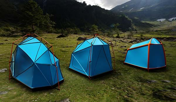The Bolt is a Lightweight Tent with Full Lightning