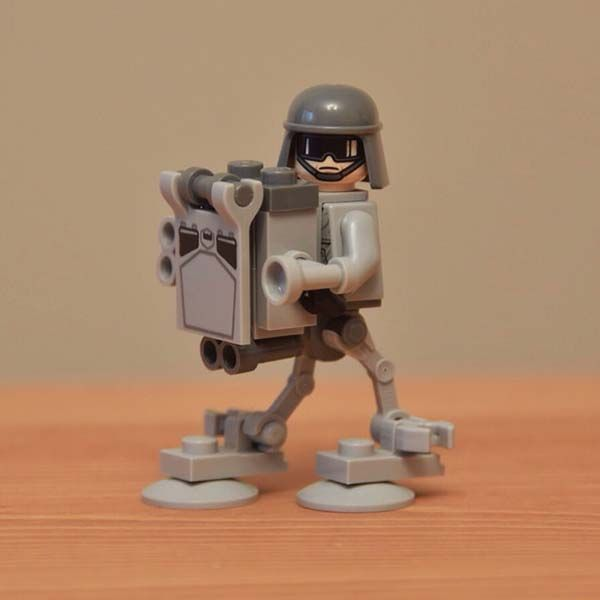 The Minimal LEGO Starship Costumes Fit Star Wars Minifigures  Gadgetsin