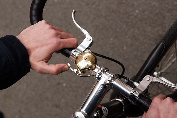 Skull Brass Bike Bell Adds Old Fashion to Your Bicycle