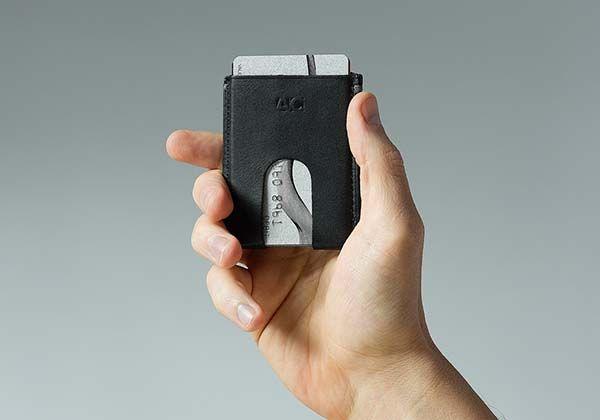 The Anson Calder 18 UltraSlim Leather Wallet  Gadgetsin