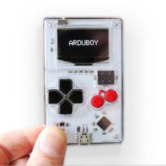 Kitchen Game Design Bangalore Arduboy Credit Card Sized Handheld Console | Gadgetsin