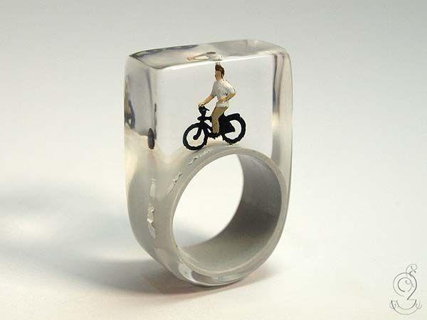 The Handmade Rings Boast Builtin Dioramas  Gadgetsin