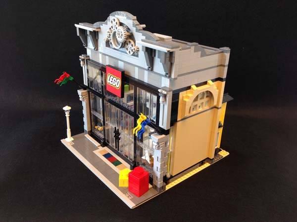 The Modular LEGO Store Built with LEGO Bricks  Gadgetsin