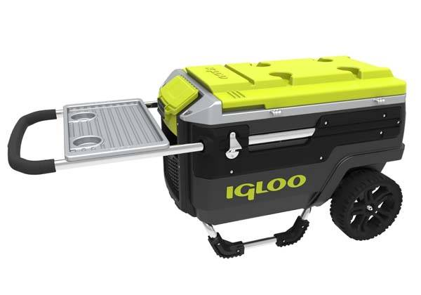 Igloo Trailmate Journey AllTerrain Wheeled Cooler  Gadgetsin