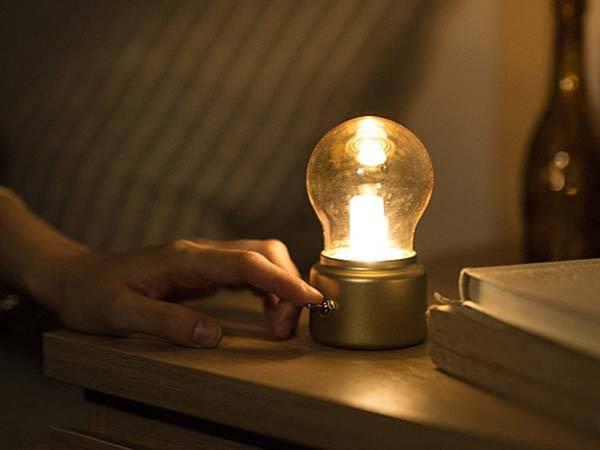 Retro Bulb Shaped USB LED Lamp  Gadgetsin
