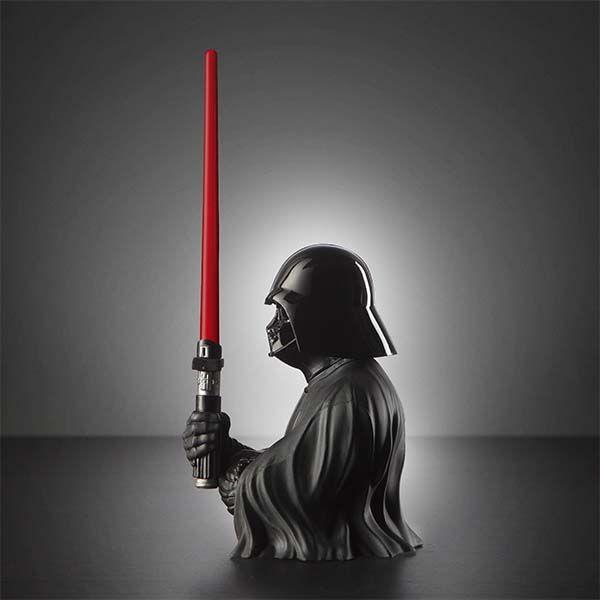 Star Wars Darth Vader Pen Holder with a Lightsaber