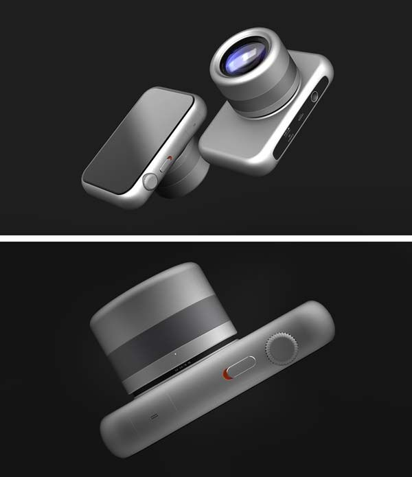 The iCamera is an Apple Inspired Concept Mirrorless Camera