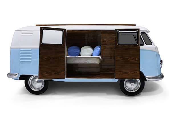 Bun Van VW Camper Van Shaped Bed Makes You On The Road