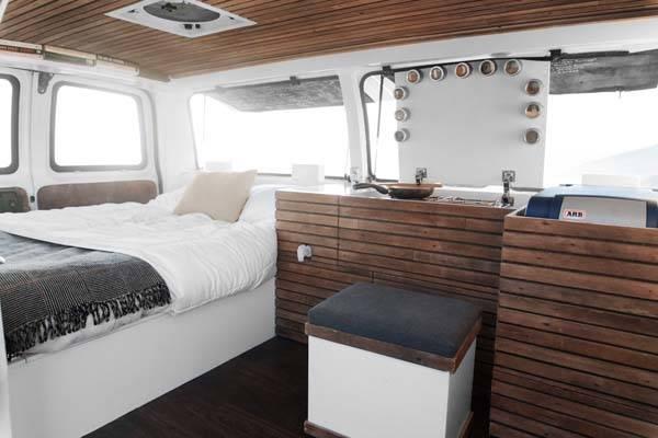 How to Convert a Cargo Van into a Camper Van  Gadgetsin