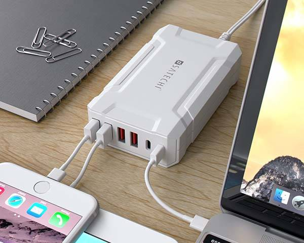 Satechi MultiPort USB Charging Station with USBC Ports