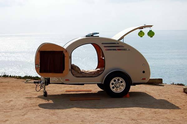Oregon TrailR Frontear Teardrop Camping Trailer  Gadgetsin