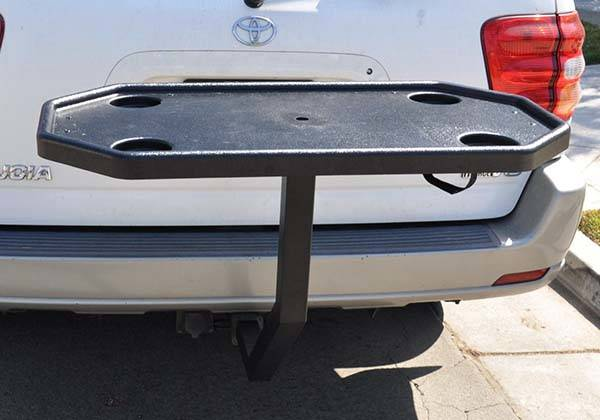The EZ Hitch Tailgate Table is a Nice Addition for Your
