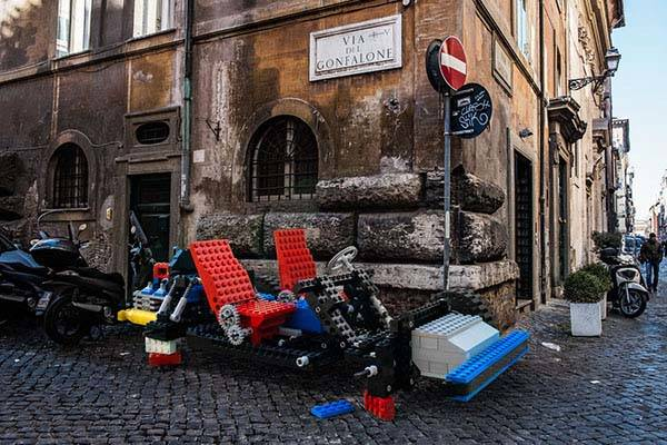 The LifeSized LEGO Vehicles in Our Real World  Gadgetsin