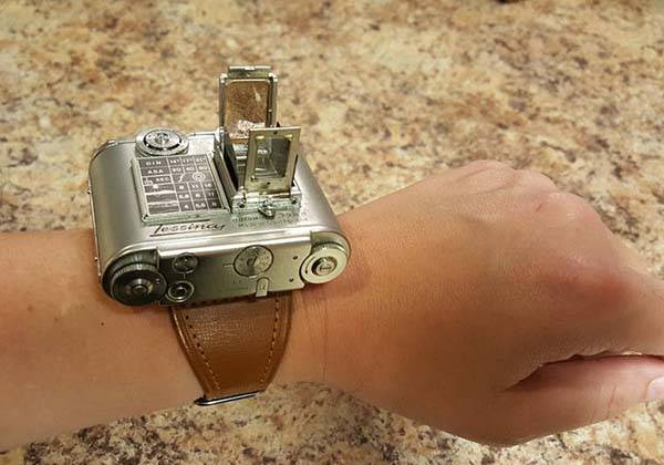 kitchen tool full circle brush tessina vintage camera can be worn on your wrist | gadgetsin