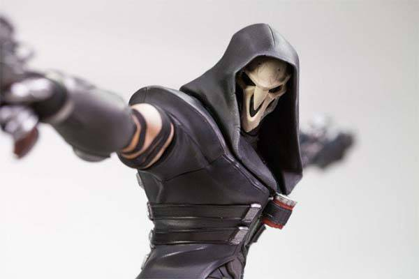 Blizzard Overwatch Limited Edition Reaper Statue Gadgetsin
