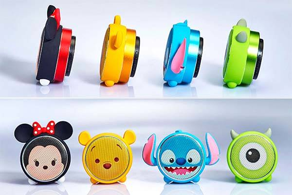Disney Tsum Tsum Portable Bluetooth Speaker Inspired by