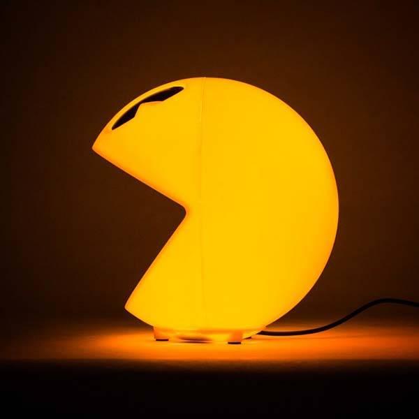 3D PacMan LED Lamp  Gadgetsin