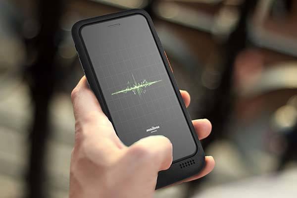 Walkie Talkie Equipped Smartphone Case  Gadgetsin