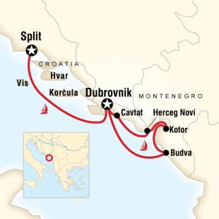 Hırvatistan - Karadağ, Dalmaçya Kıyıları Turu