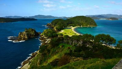 New Zealand–The Bay of Islands in New Zealand, Australia ...