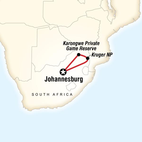 Güney Afrika Kruger Safari Turu