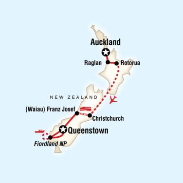 Yeni Zelanda Keşif Turu