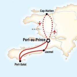 Haiti turu rotası