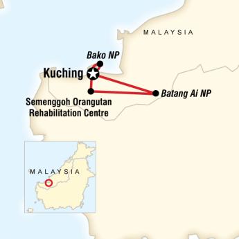 Malezya Sarawak Turu
