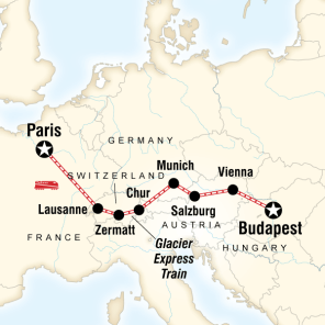 Trenle Avrupa turu