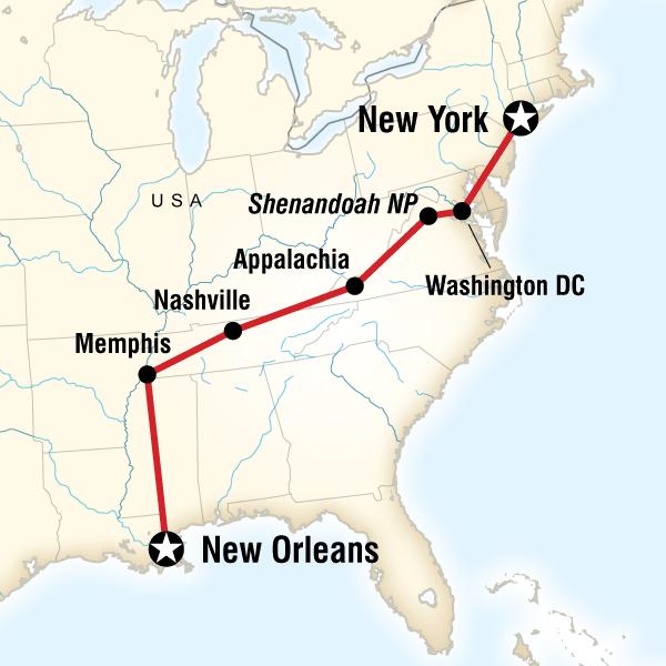 Doğu Amerika ABD Turu