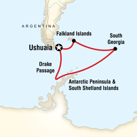 GüneyKutup Adaları &Antarktika Turu