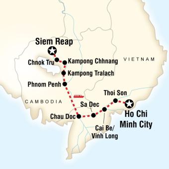 Vietnam Kamboçya Tekne Turu
