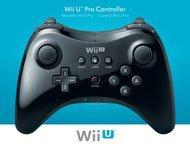 Wii U Pro Controller Black Nintendo Wii U Gamestop