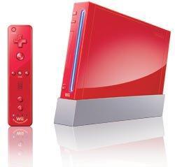 Nintendo Wii System Red Gamestop Premium Refurbished