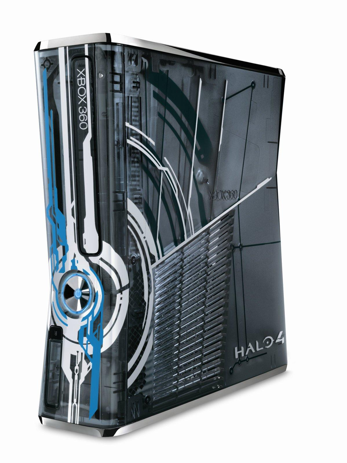 Xbox 360 S 320gb System Halo 4 Gamestop Premium